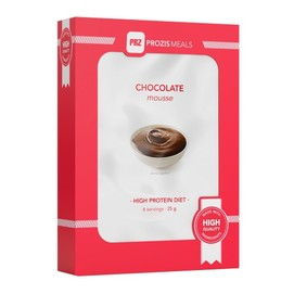 6 x Mousse de chocolate 25 g
